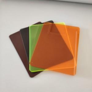 Chapa de acrílico transparente 10mm