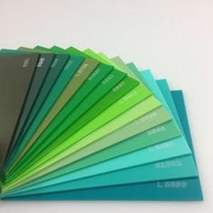 Chapa de acrílico colorido preço