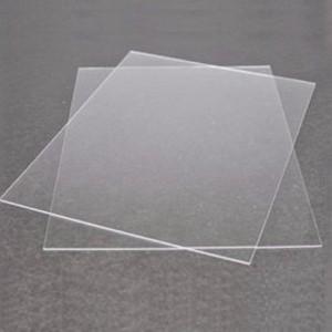 Chapa de acrílico transparente 1mm